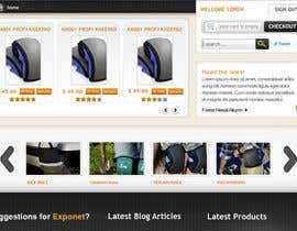 #60 para Website Design for KNEETEK.NET de cnlbuy