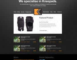 nº 54 pour Website Design for KNEETEK.NET par dvdbdr