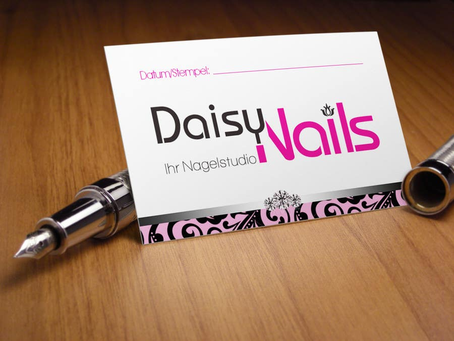#52 for Design some Business Cards for Nails Studio by RERTHUSI