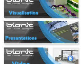 nº 54 pour Banner Ad Design for The Bionic Group par Freelancer0070
