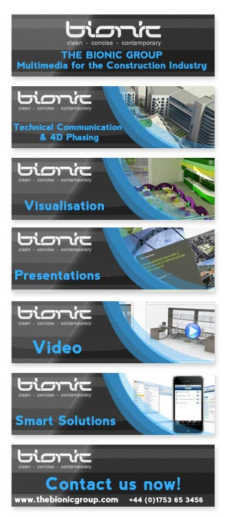 #55 for Banner Ad Design for The Bionic Group by Freelancer0070