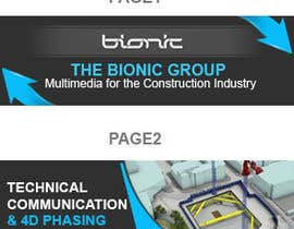 nº 40 pour Banner Ad Design for The Bionic Group par dreamsweb