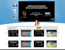 #33 pentru Website Design for KHAAFILA.TV  and HIJRAH.TV online televisions de către alimoon138