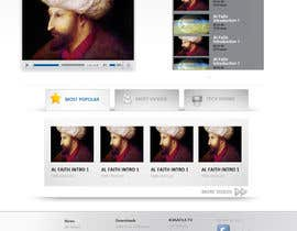 #23 pentru Website Design for KHAAFILA.TV  and HIJRAH.TV online televisions de către design3r4u