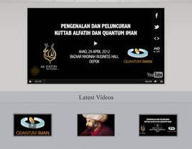 #18 untuk Website Design for KHAAFILA.TV  and HIJRAH.TV online televisions oleh TahsinTahil