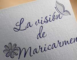 "Kihot tarafından Design a logo for my blog: ""La visión de Maricarmen"" için no 7"