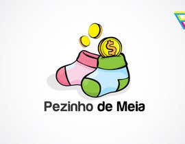 #107 for Logo Design for Pezinho de Meia (Baby Socks in portuguese) by Ferrignoadv