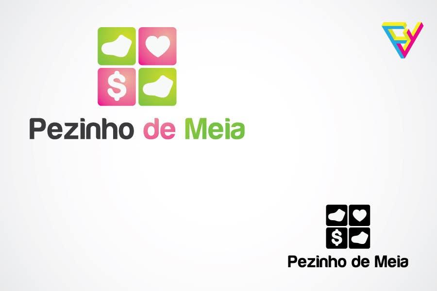 Entri Kontes #100 untukLogo Design for Pezinho de Meia (Baby Socks in portuguese)
