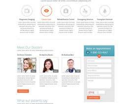 Nro 9 kilpailuun Doctor search website responsive mockup käyttäjältä Alphaseekers