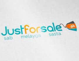 AhmadBinNasir tarafından Make a logo for justforsale.pk için no 48