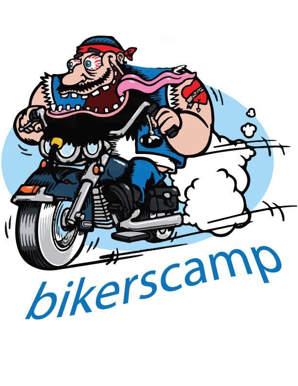 Contest Entry #13 for Bikers Campsite logo