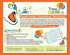 satishchand75 tarafından Design a Flyer for Puppet Show and Entertainment Company için no 21