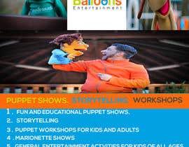 Rijjik tarafından Design a Flyer for Puppet Show and Entertainment Company için no 34