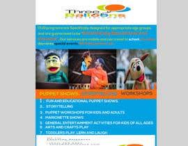 Rijjik tarafından Design a Flyer for Puppet Show and Entertainment Company için no 35