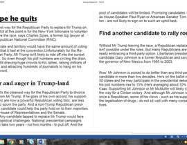 raunnayak tarafından Political Articles for US Elections için no 6
