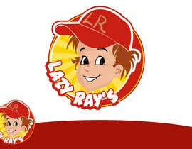 #2 para Logo Design for Lazy Ray's por rogeliobello