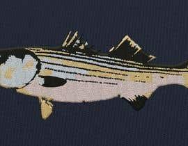moilyp tarafından Illustrate 3 species of fish to be used for embroidery için no 3