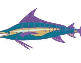 moilyp tarafından Illustrate 3 species of fish to be used for embroidery için no 6