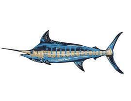 msypin tarafından Illustrate 3 species of fish to be used for embroidery için no 1