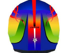 #37 untuk Racing Helmet design for 9 year old boy. oleh vishmith