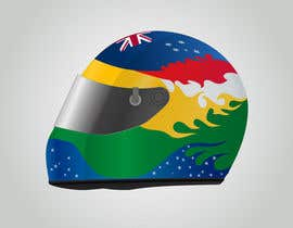 #28 para Racing Helmet design for 9 year old boy. por dipcore