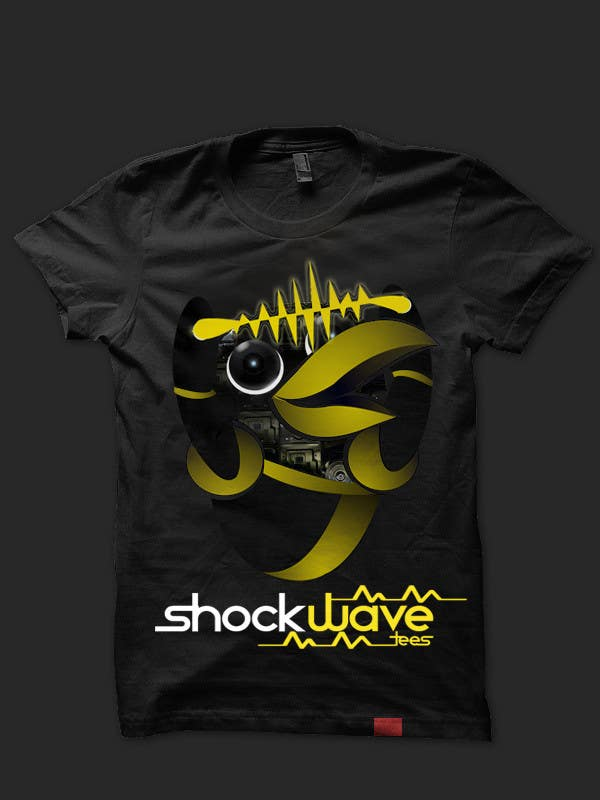#119 for Logo Design for T-Shirt Company.  ShockWave Tees by xcerlow