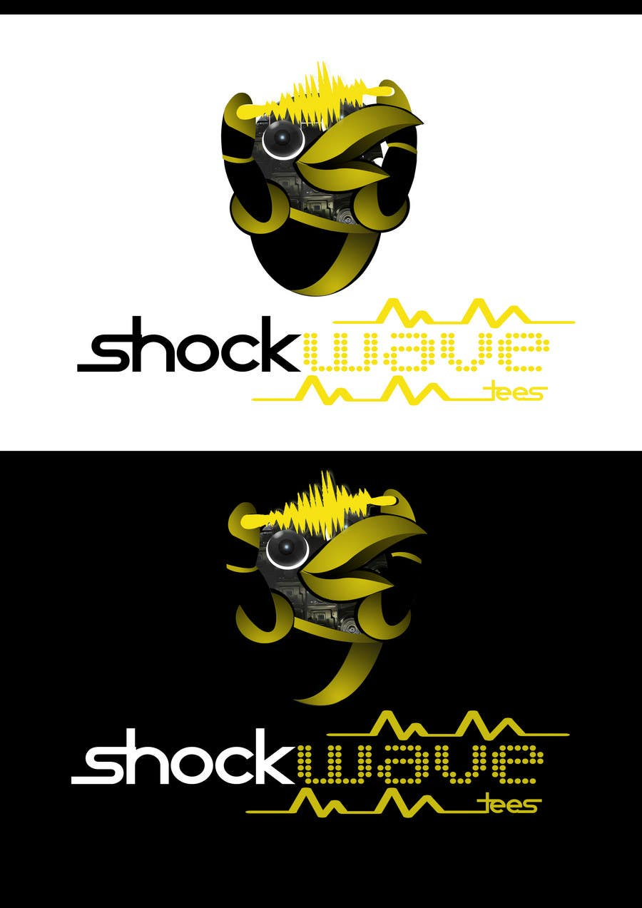 #136 for Logo Design for T-Shirt Company.  ShockWave Tees by xcerlow