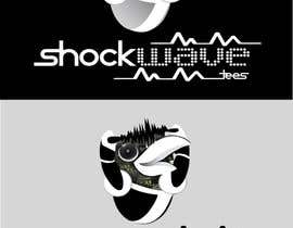 nº 142 pour Logo Design for T-Shirt Company.  ShockWave Tees par xcerlow