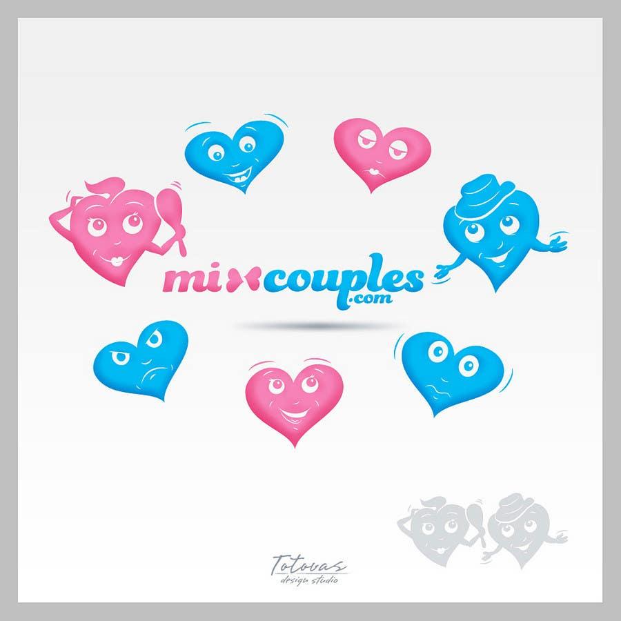 Inscrição nº                                         602                                      do Concurso para                                         Logo Design for mixcouples.com