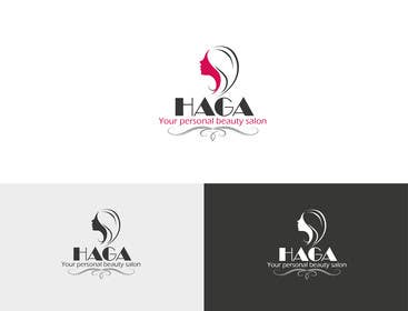 JoseValero02 tarafından Design a Logo Your personal beauty salon  HAGA için no 46