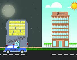 overtservices tarafından Illustrate a building with two different scenarios.... Unoccupied & Occupied için no 4