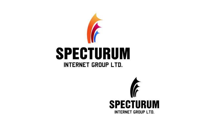 Penyertaan Peraduan #151 untuk Logo Design for Spectrum Internet Group LTD