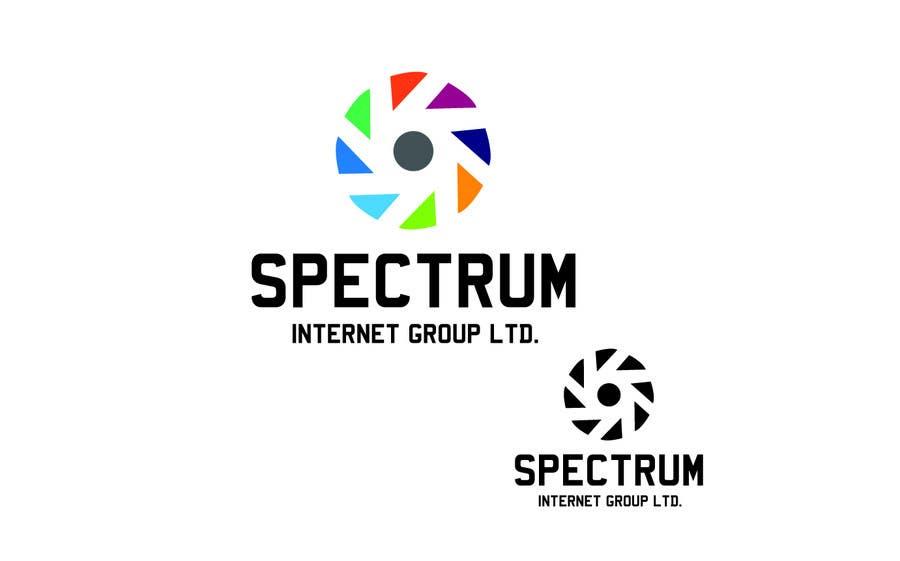 Penyertaan Peraduan #150 untuk Logo Design for Spectrum Internet Group LTD