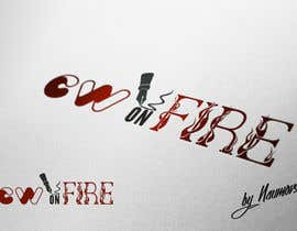 Naumovski tarafından Logo for Copywriteronfire.com için no 7