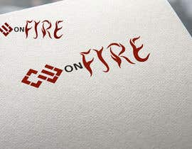 Naumovski tarafından Logo for Copywriteronfire.com için no 8