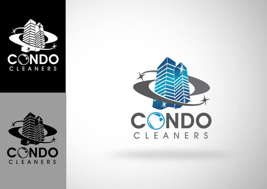 Penyertaan Peraduan #303 untuk Logo Design for Condo Cleaners