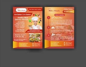 NongChan tarafından Design a Flyer For FitEx Meals için no 10