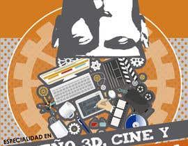 TeresaGM73 tarafından Diseña un flyer para el posgrado en diseño 3d, cine y animación digital için no 22