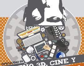 TeresaGM73 tarafından Diseña un flyer para el posgrado en diseño 3d, cine y animación digital için no 23