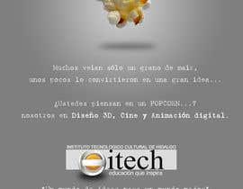 eduardocj5 tarafından Diseña un flyer para el posgrado en diseño 3d, cine y animación digital için no 8
