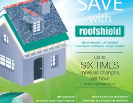 #28 for Design an Advertisement for Roofshield 2014 by CBDesigns101