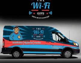 RaihanMuhammad tarafından In need of a vintage van wrap design for a wifi service company için no 14