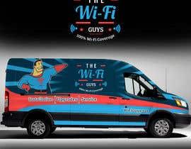 RaihanMuhammad tarafından In need of a vintage van wrap design for a wifi service company için no 15