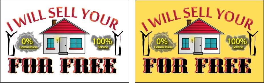 Inscrição nº 165 do Concurso para Logo Design for I Will Sell Your House For Free