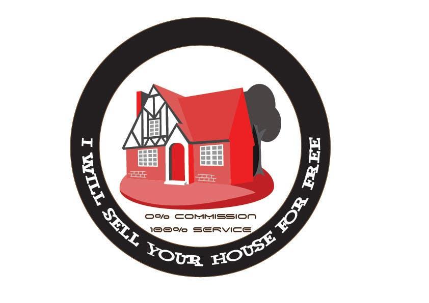 Конкурсная заявка №226 для Logo Design for I Will Sell Your House For Free