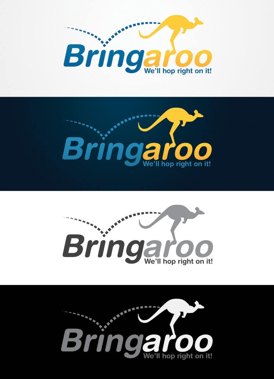 #303 for Logo Design for Bringaroo by bendstrawdesign