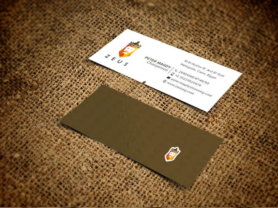 Entry #40 by mnrskp for Design a Creative & Attractive Business Card ...