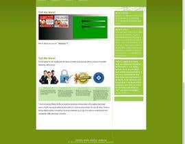 #17 for Design a Website PSD New design by minghui22000