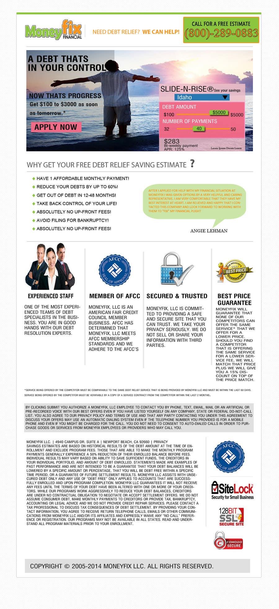 #14 for Design a Website PSD New design by fahadaptechian