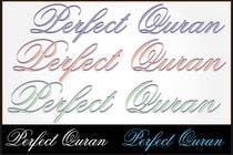 Graphic Design Inscrição do Concurso Nº374 para Logo Design for PerfectQuran